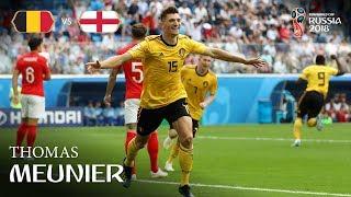 Thomas Meunier Goal – Belgium v England – MATCH 63