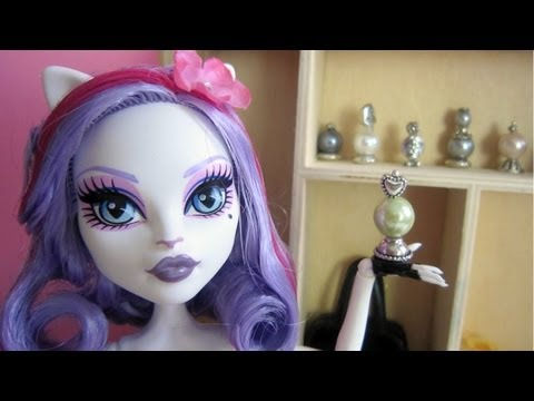 How to make perfume bottles for your monster High.Barbie or Bratz doll - EP