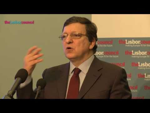 President Barroso Keynotes The Europe 2020 Summit