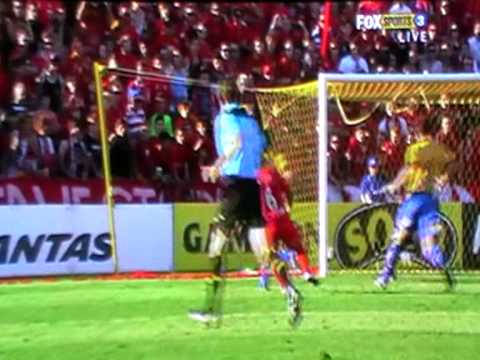 All the goals in the Elimination final between Adelaide and Gold Coast at Hindmarsh Stadium, in Adelaide, on the 27th of February, 2011. Gold Coast got the 1...