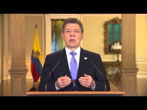 Alocución del Presidente de la República, Juan Manuel Santos - 17 de noviembre de 2014