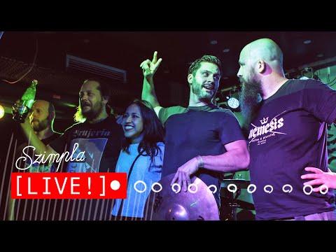 LIVE!!! Room of the Mad Robots @ SzimplaROCKS 2019.10.05.