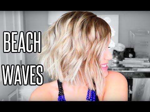 Beach Waves for Short Hair   L'ange Hair Wand