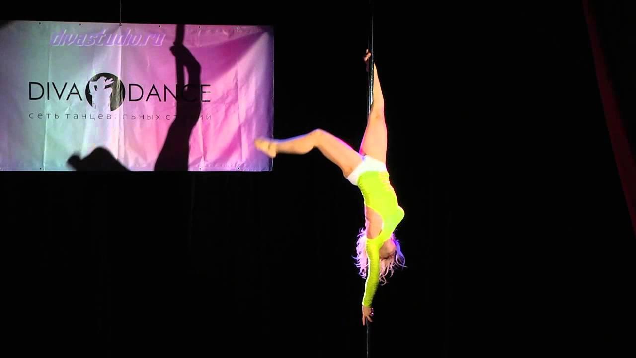 """Отчетный концерт Pole dance в клубе """"Олимпия"""" 01.06. 2014 года. Педагог Ольга Тен"""