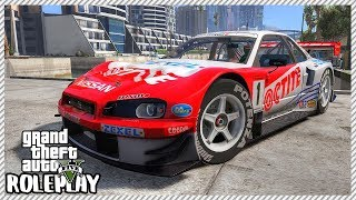 GTA 5 Roleplay - Crashed 'INSANE' Nissan Skyline GTR R34 Street Racing| RedlineRP #243