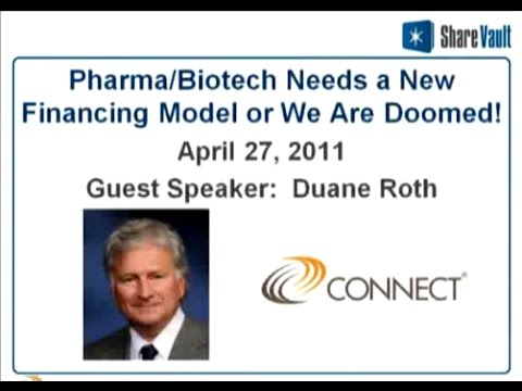 Pharma-Biotech Needs a New Financing Model or We Are Doomed!