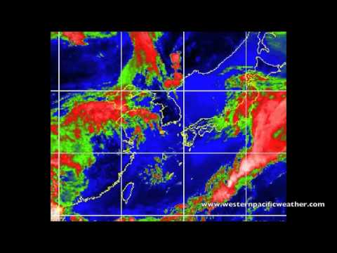 Severe Tropical Storm (Typhoon) Sanvu / 25 May 2012 Western Pacific Weather update