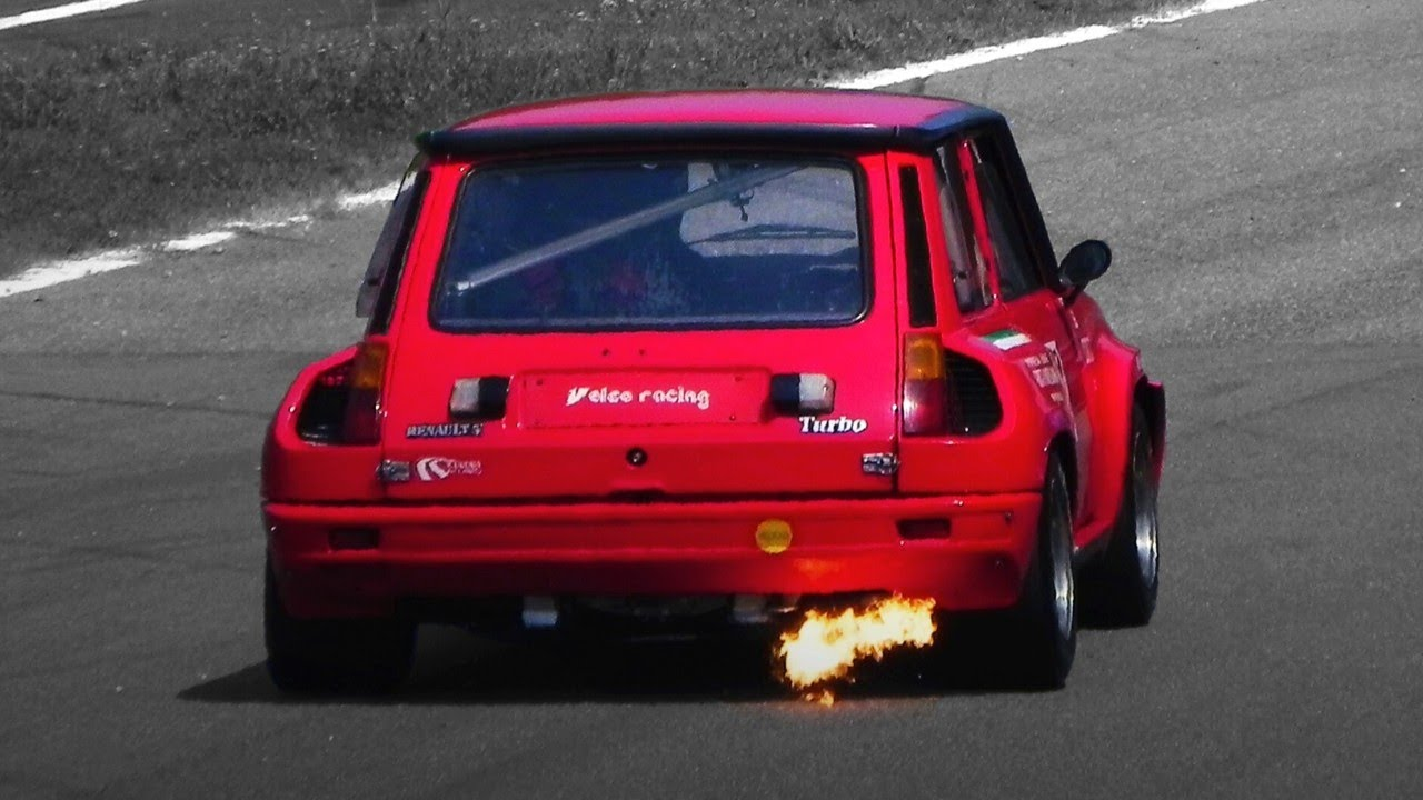 renault 5 turbo 2 in action on track youtube. Black Bedroom Furniture Sets. Home Design Ideas
