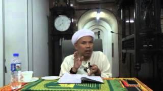 Pengajian siri ke 6 kitab Nasihat Agama Dan Wasiat Iman 280116
