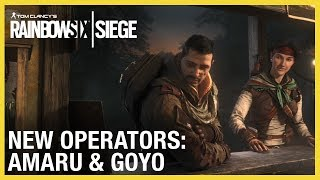 Rainbow Six Siege: Operation Ember Rise – Amaru & Goyo Trailer | Ubisoft [NA]