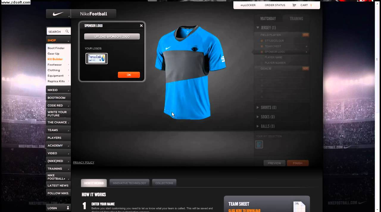Design Your Own Shirt App
