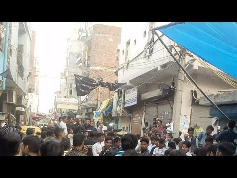 Jalus_e_Aza MULLA COLONY GHAROLI EXT IMABARGAH DELHI 27 Safar 2019