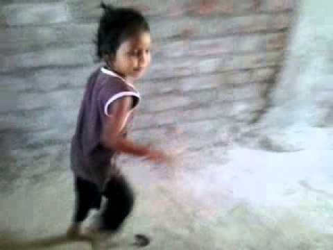 small girls dance to Gujarati famous song 