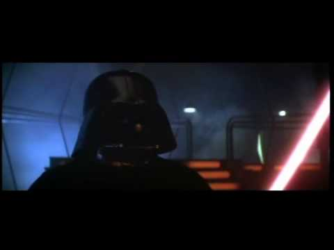 Luke Skywalker Vs. Darth Vader (Bespin Freezing Chamber) Video