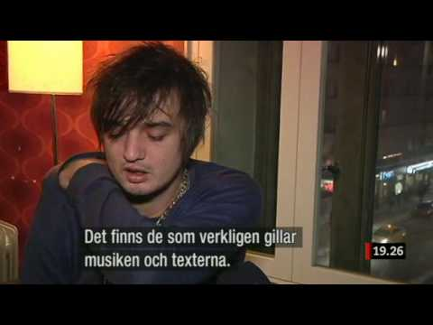 Peter Doherty Interview Sweden 2010