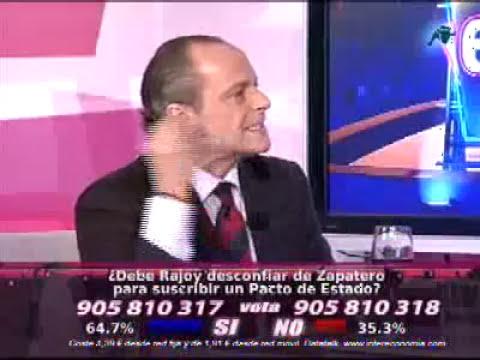 Eduardo García Serrano critica al Rey en