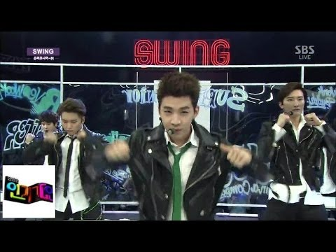 [슈퍼주니어-m(super Junior - M)] - Swing 인기가요 Inkigayo 140406 video