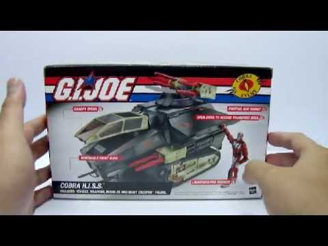 2005 Hasbro G.i. Joe - Dtc Cobra H.i.s.s. & Night Creeper Toy Review video