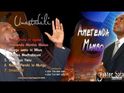 Mungu Wetu Ni Mkuu By Pst. Safari Jeannot video