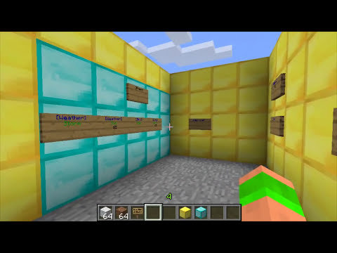 Minecraft Bukkit Plugin - Essentials Signs - Buy/Sell/Trade signs - Shops