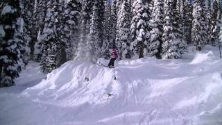 Ski improvement clinics - Bumps & off piste at Big White Ski Resort 2015