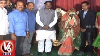 Telangana Government Advisor G.Vivek Visits Peddapalli District || V6 News