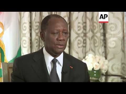 Ivory Coast President Alassane Ouattara says his country will lift the controversial suspension of f