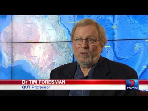 QUT - Queensland spatial information revolution, Dr Tim Foresman, 7 News, 09-06-2014