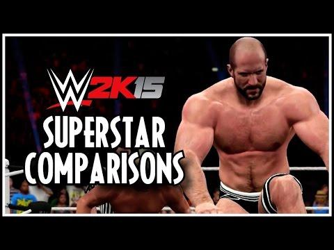 WWE 2K15 - More Superstar Comparisons! (WWE 2K14 vs WWE 2K15)
