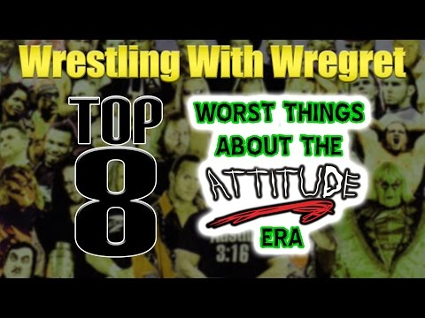 Top 8 Worst Things About the Attitude Era | Wrestling With Wregret