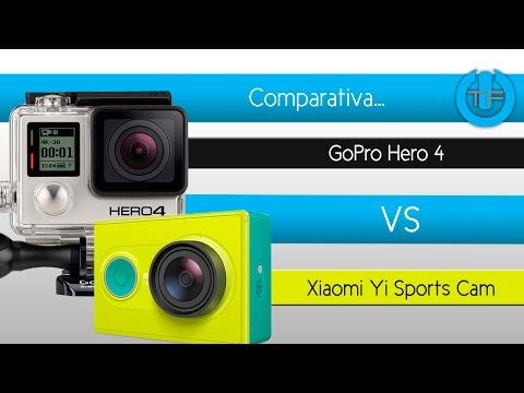 Comparativa GoPro Hero 4 VS Xiaomi Yi Sports Cam