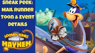 New Toon: Mail Runner Review and Gameplay | Looney Tunes World of Mayhem