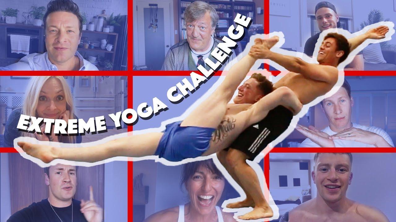 Extreme Yoga Challenge with Nile Wilson | Tom Daley