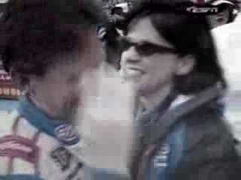 John Andretti In Victory Lane at Martinsville, April 1999