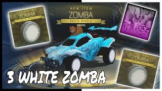 I GOT 3 WHITE ZOMBA IN A WEEK BEST PCC OPENING COMPILATION U WILL EVER SEE