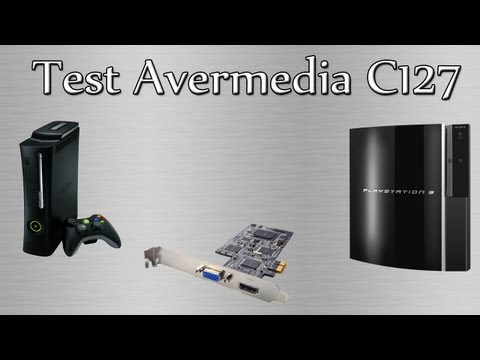 Review Avermedia C127   Enregistrer en 1080P HDMI / YUV + Tuto faire des Streaming live