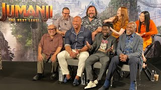 JUMANJI: THE NEXT LEVEL - Cast Q&A