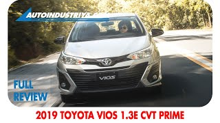 2019 Toyota Vios 1.3E CVT Prime - Full Review