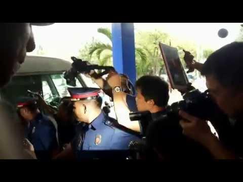 Scene before inquest proceedings of arrested CPP-NPA leaders