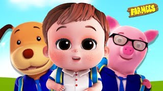 It's Time to Go to School + More Children's Nursery Rhymes & Kids Songs