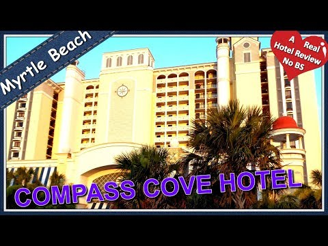 BEST TOUR REVIEW COMPASS COVE Hotel Resort Myrtle Beach Sc Oceanfront Rooms Youtube VIDEO Watermark