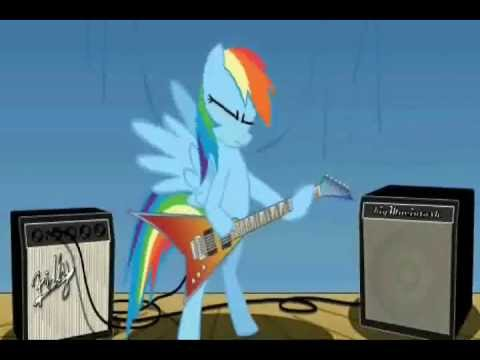 Rainbow Dash Plays Guitar Rainbow Dash Plays Ravage Inc