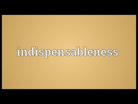 Header of indispensableness