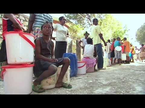 Haiti: water for earthquake survivors