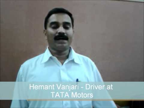 Pawan - Drivers Training Program Conducted at TATA Motors, Mumbai