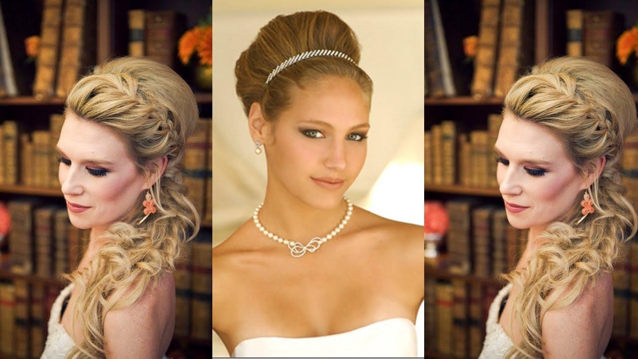 peinados juveniles para boda 2015