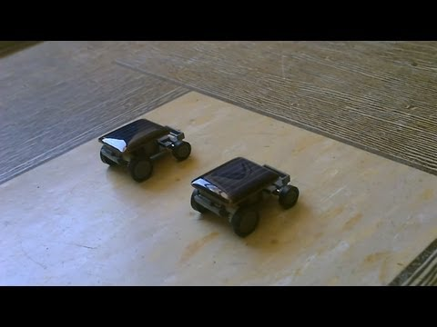 Solar Powered Cars - solar powered racing (toy cars) 100% solar powered