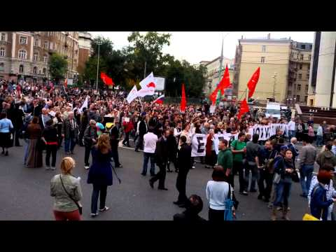 Moscow anti Putin rally(3)