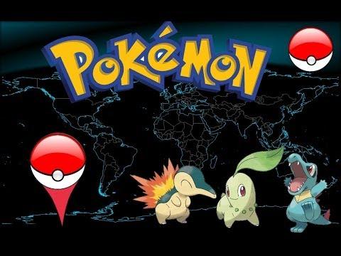 NUEVO Juego de Pokemon en Google Maps [2014I