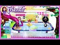 Lego Friends Big Swimming Pool in Olivia's Backyard Custom Build Silly Play Kids Toys